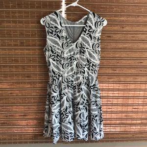 Black-White Dress
